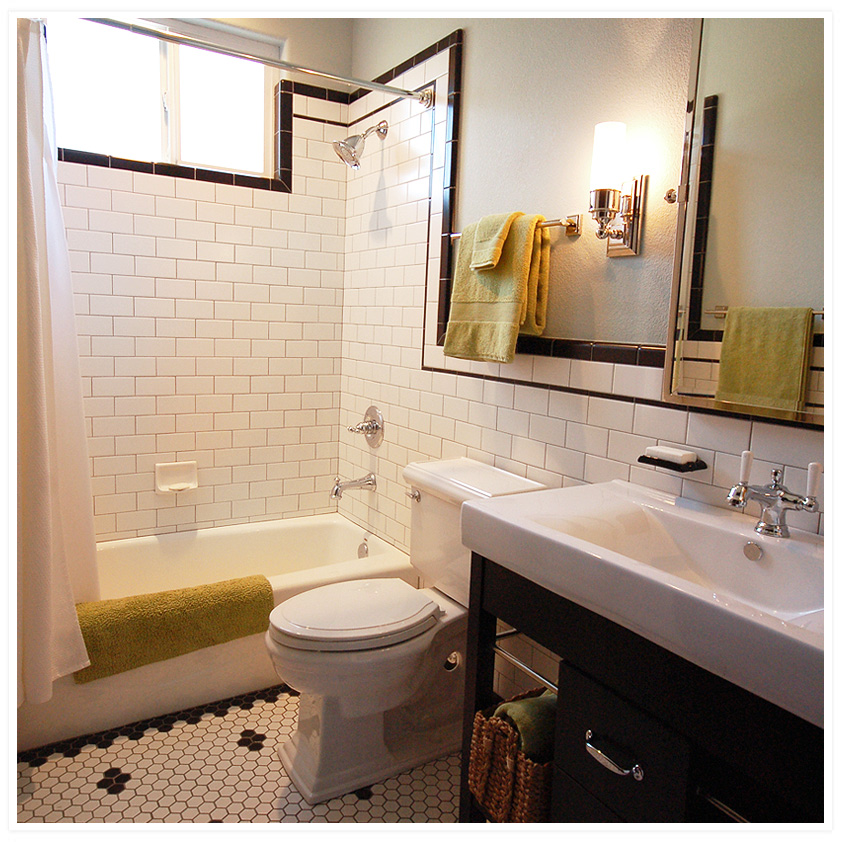 Aaand   guest bathroom reveal    Wild Ink Press. Guest Bathroom. Home Design Ideas