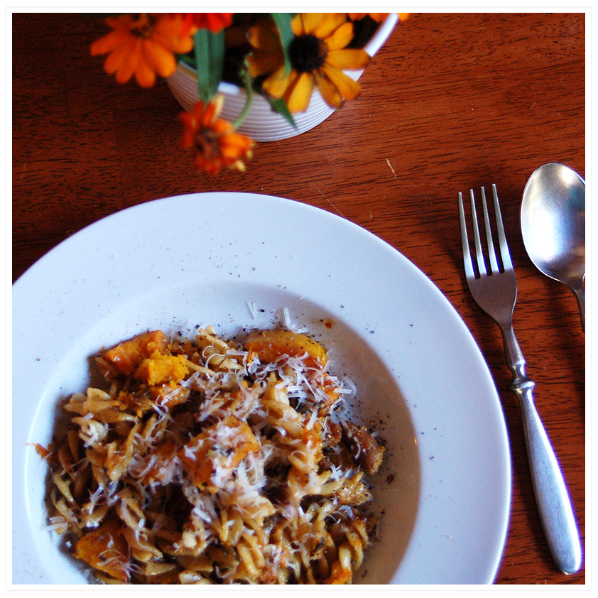squash and sausage and sage, oh my. | Wild Ink Press