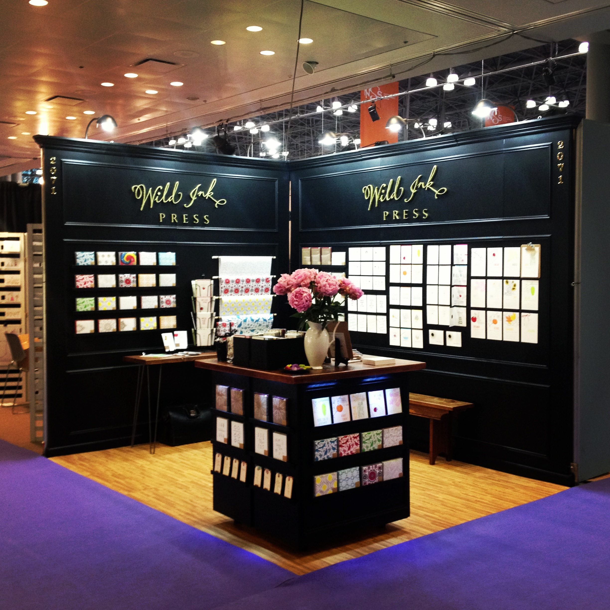 Best Exhibition Booth : National stationery show the recap wild ink press