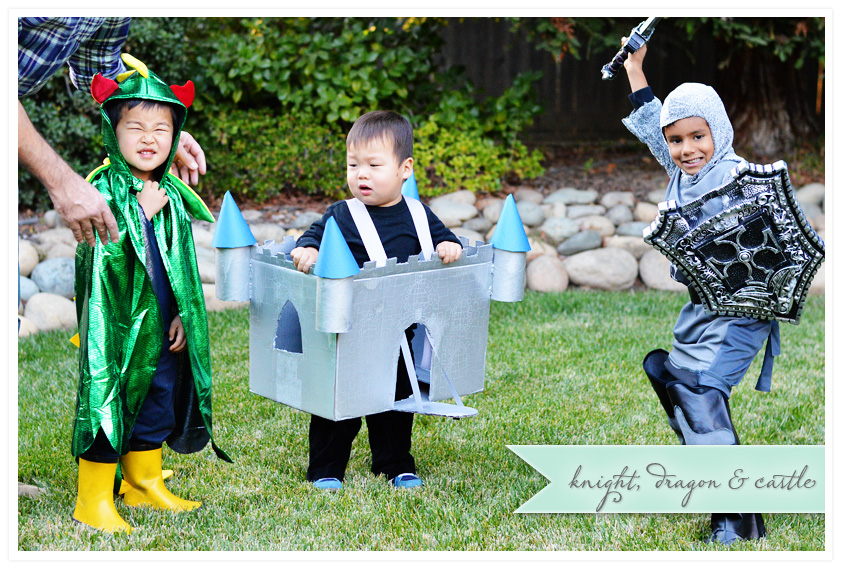 A Dragon, a Castle and a Knight | Halloween 2013