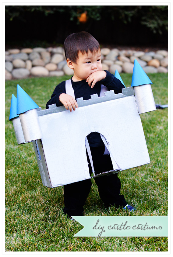 DIY Castle Costume
