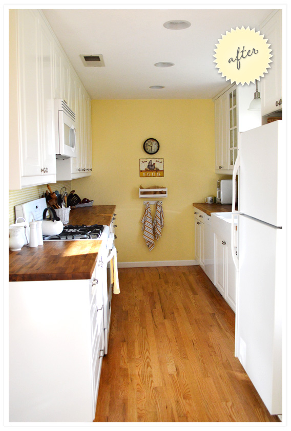 cottage-style ranch kitchen: after